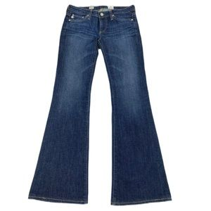AG ADRIANO GOLDSCHMIED Size 25R Belle Flare Denim